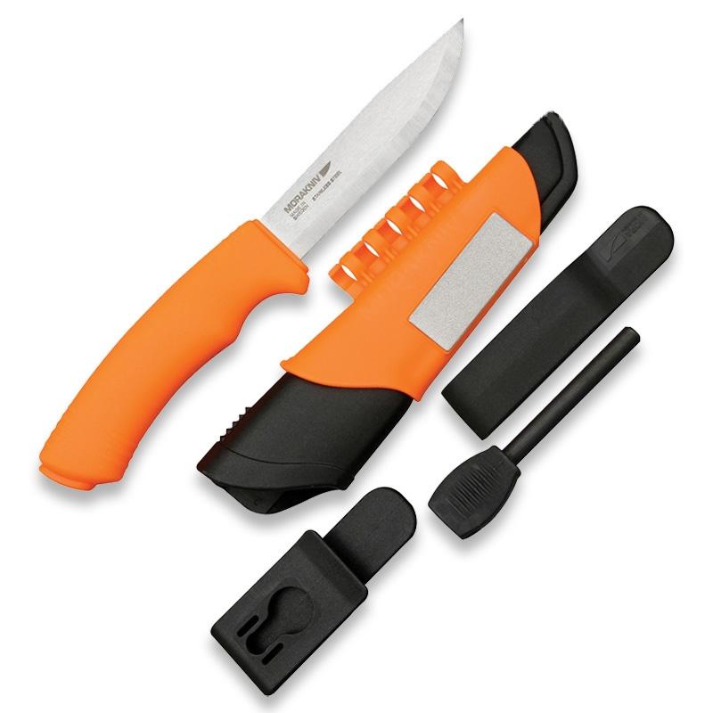 スウェーデンのナイフメーカーで軽量で機能的なサバイバルレスキューナイフ... ブッシュクラフト