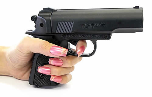 ピストル 拳銃 型防犯用催涙銃